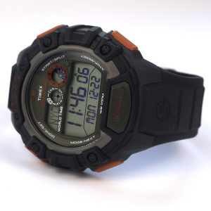 Timex TWH2Z9310 Expedition Global Shock Black-Orange-Green Resin Watch