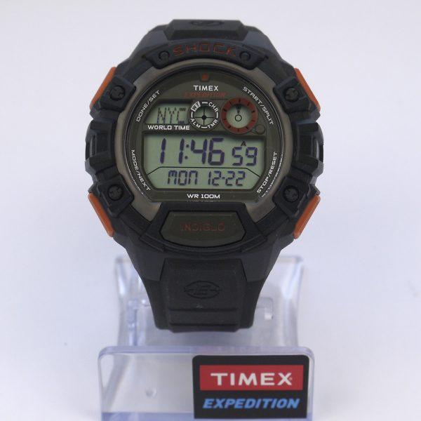 Timex TWH2Z9310 Expedition Global Shock Black-Orange-Green Resin Watch_02