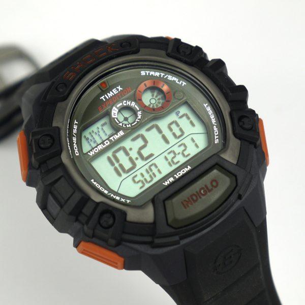 Timex TWH2Z9310 Expedition Global Shock Black-Orange-Green Resin Watch_06