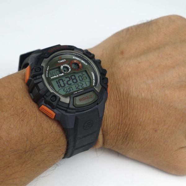 Timex TWH2Z9310 Expedition Global Shock Black-Orange-Green Resin Watch_08