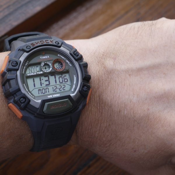 Timex TWH2Z9310 Expedition Global Shock Black-Orange-Green Resin Watch_09