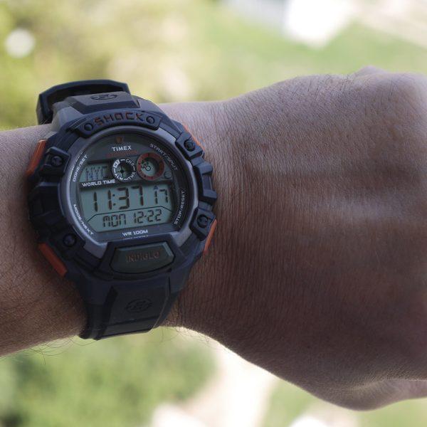 Timex TWH2Z9310 Expedition Global Shock Black-Orange-Green Resin Watch_10