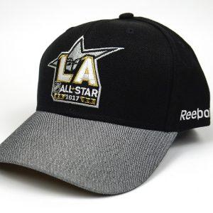 Cap Reebok NHL All Star 2017 Black Grey_02