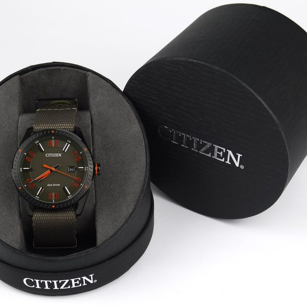 Citizen BM6995-01X Eco-Drive CTO Nylon Strap Watch_02