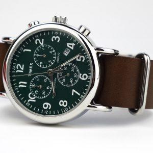 Timex T2P97400 Weekender 40 Chrono Watch