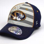 Cap Z NCAA Missouri Tigers Americana ZH Silver/Navy