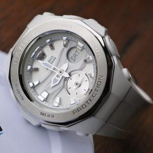 Casio BGA-220-7A Baby-G White-Silver Watch