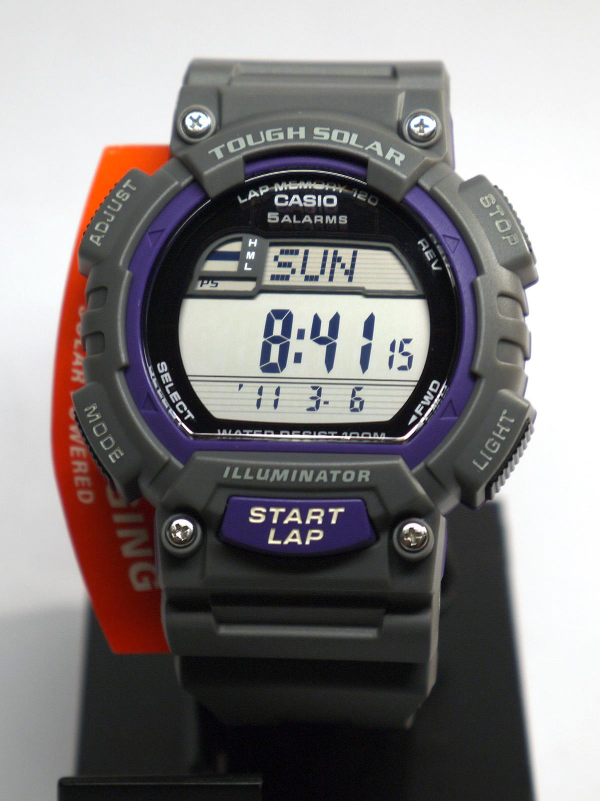 Casio Stl S100h 8avcf Tough Solar Fitness Watch ⋆ High