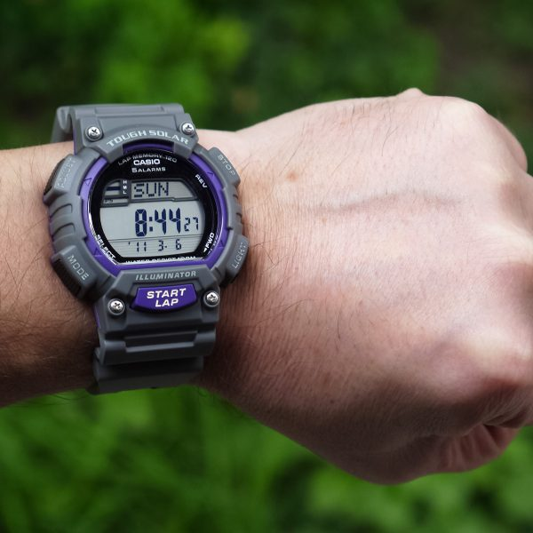 Casio STL-S100H-8AVCF Digital Solar-Powered Gray Watch with Gray Resin Band_08