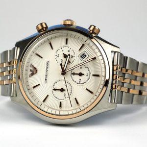 Emporio Armani AR1998 Dress Two Tone Quartz Watch