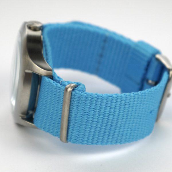 Nixon A348606 Mod Bright Blue Dial Bright Blue Nylon Ladies Watch_03