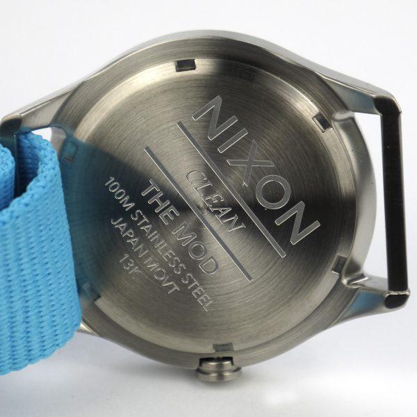 Nixon A348606 Mod Bright Blue Dial Bright Blue Nylon Ladies Watch_05