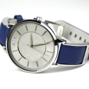 Armani Exchange Women's AX5318 Blue Leather Watch