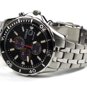 Citizen CA0561-56 E Eco-Drive Chronograph Watch