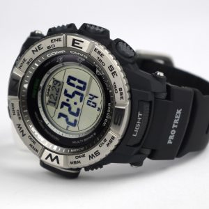 Casio PRW-3500-1CR Atomic Resin Compass Thermometer Barometer Watch