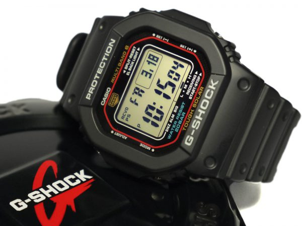 Casio G-Shock GWM5610-1 Tough Solar Atomic Timekeeping Watch