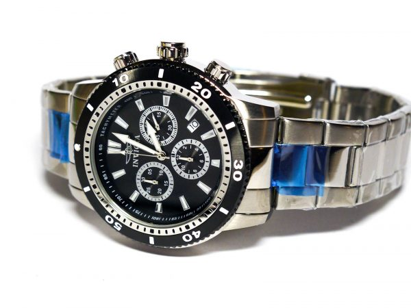 Invicta 1203 II Collection Chronograph Stainless Steel Watch
