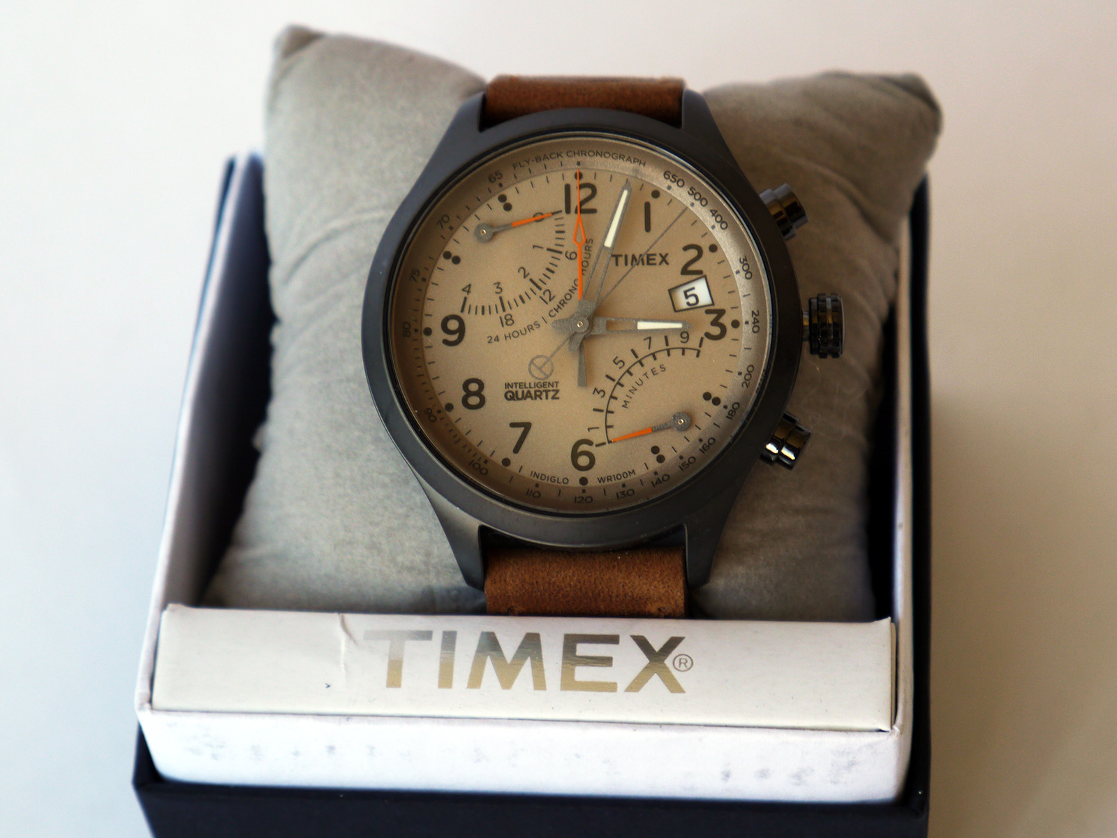Timex Tw2p78900 Fly Back Chronograph Watch