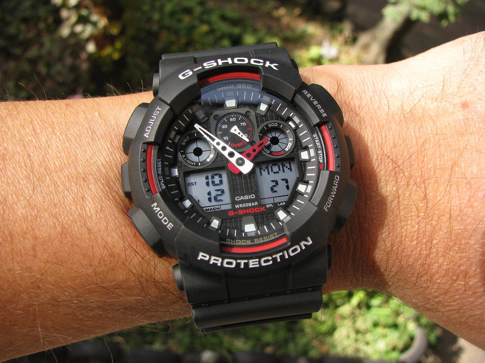 Casio 100 1a4 Quality Gallery ⋆ Shock Ga High Watch G wnkP0O