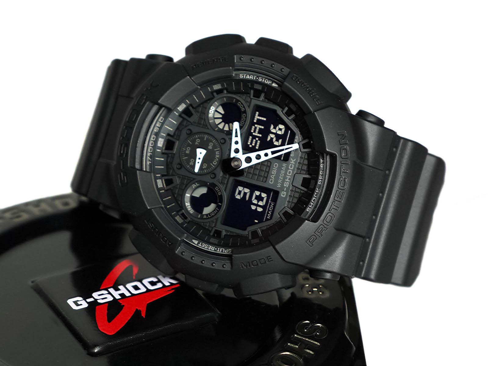 2f41f8fa1f36 Casio GA-100-1A1 G-Shock Watch ⋆ High Quality Watch Gallery