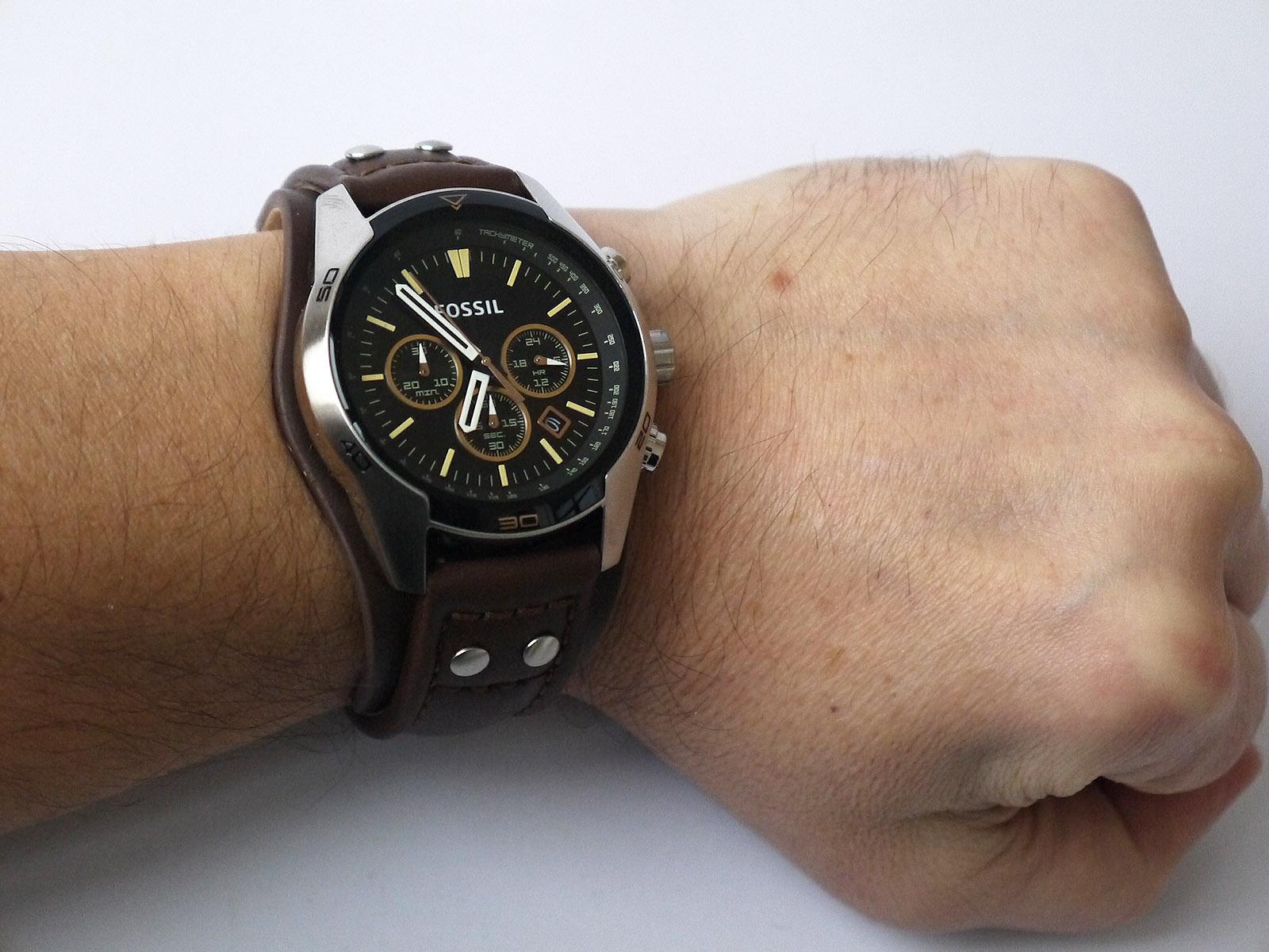 b10f9f7db Fossil CH2891 Coachman Watch ⋆ High Quality Watch Gallery