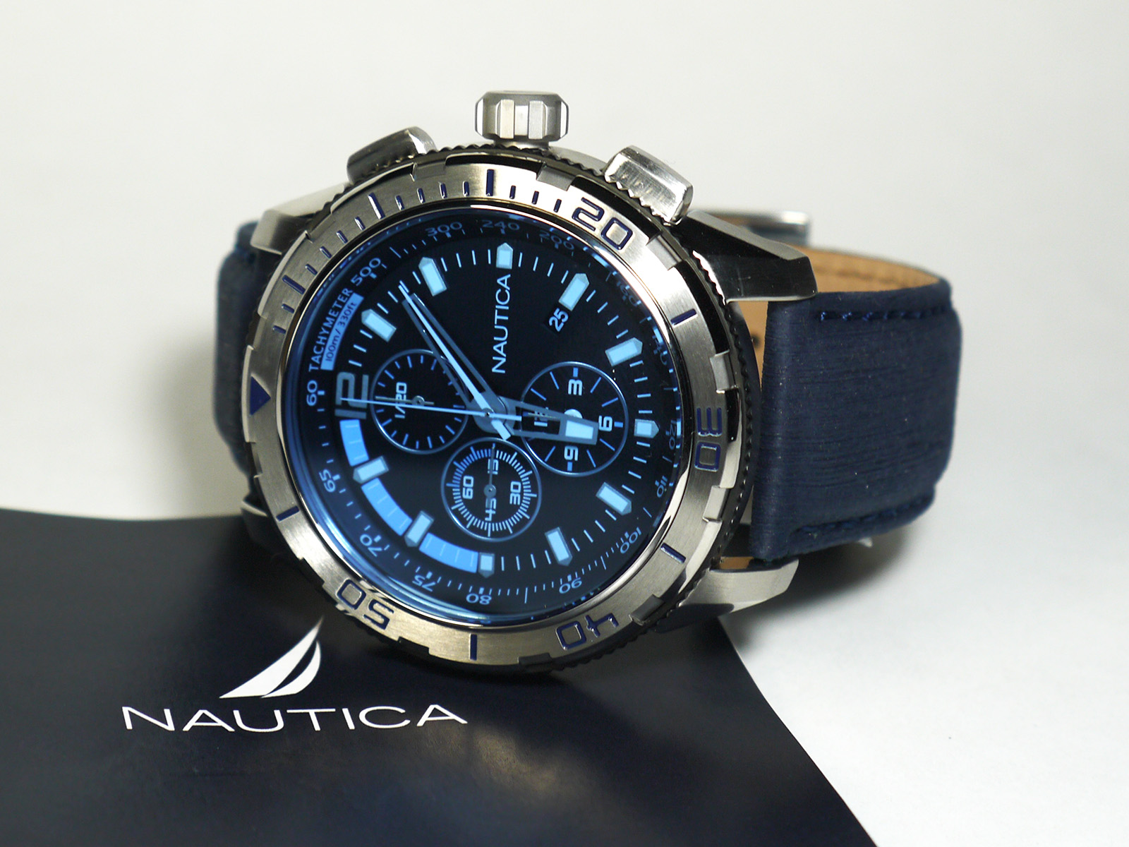 be3e7fa75b6 Nautica NAD19518G NST101 Watch ⋆ High Quality Watch Gallery