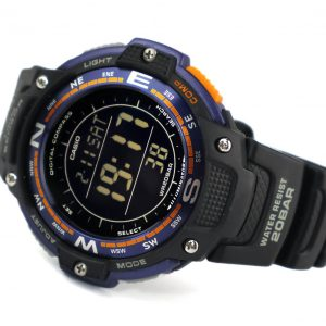 Casio SGW-100-2BCF Negative Display Compass Watch
