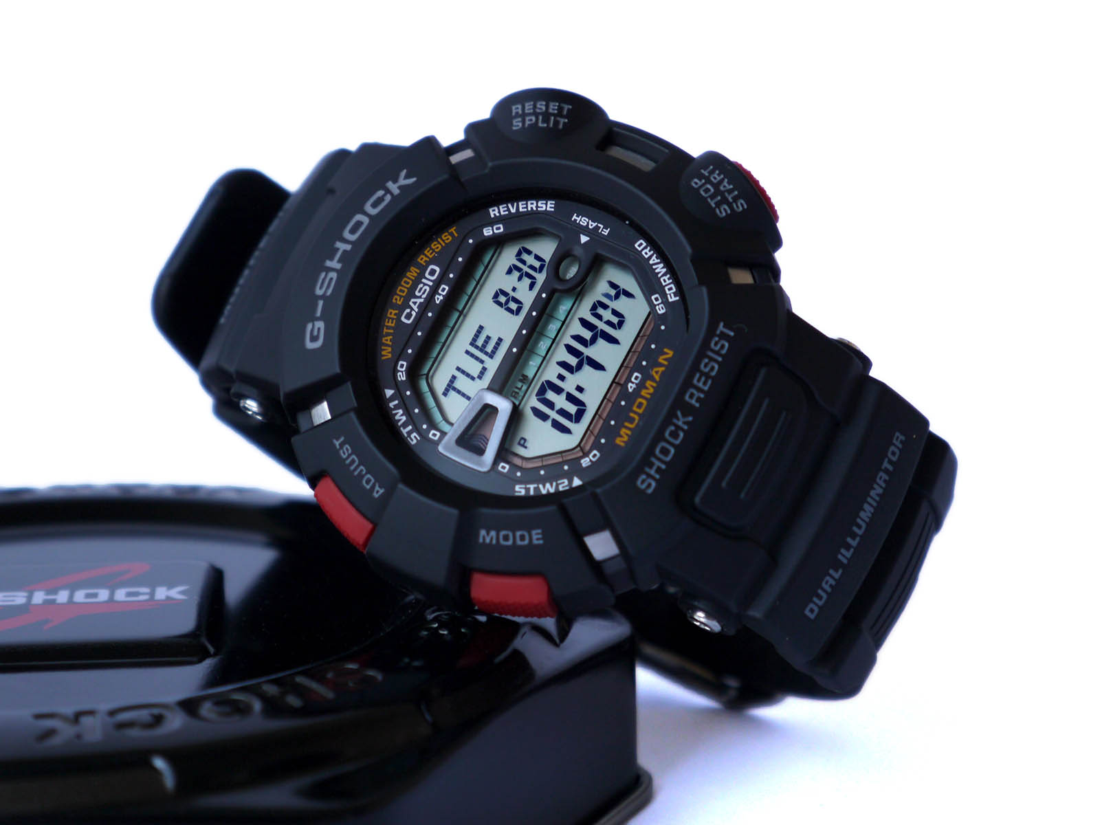b6a458f45b54c0 Часы Casio G-9000-1V Mudman ⋆ High Quality Watch Gallery