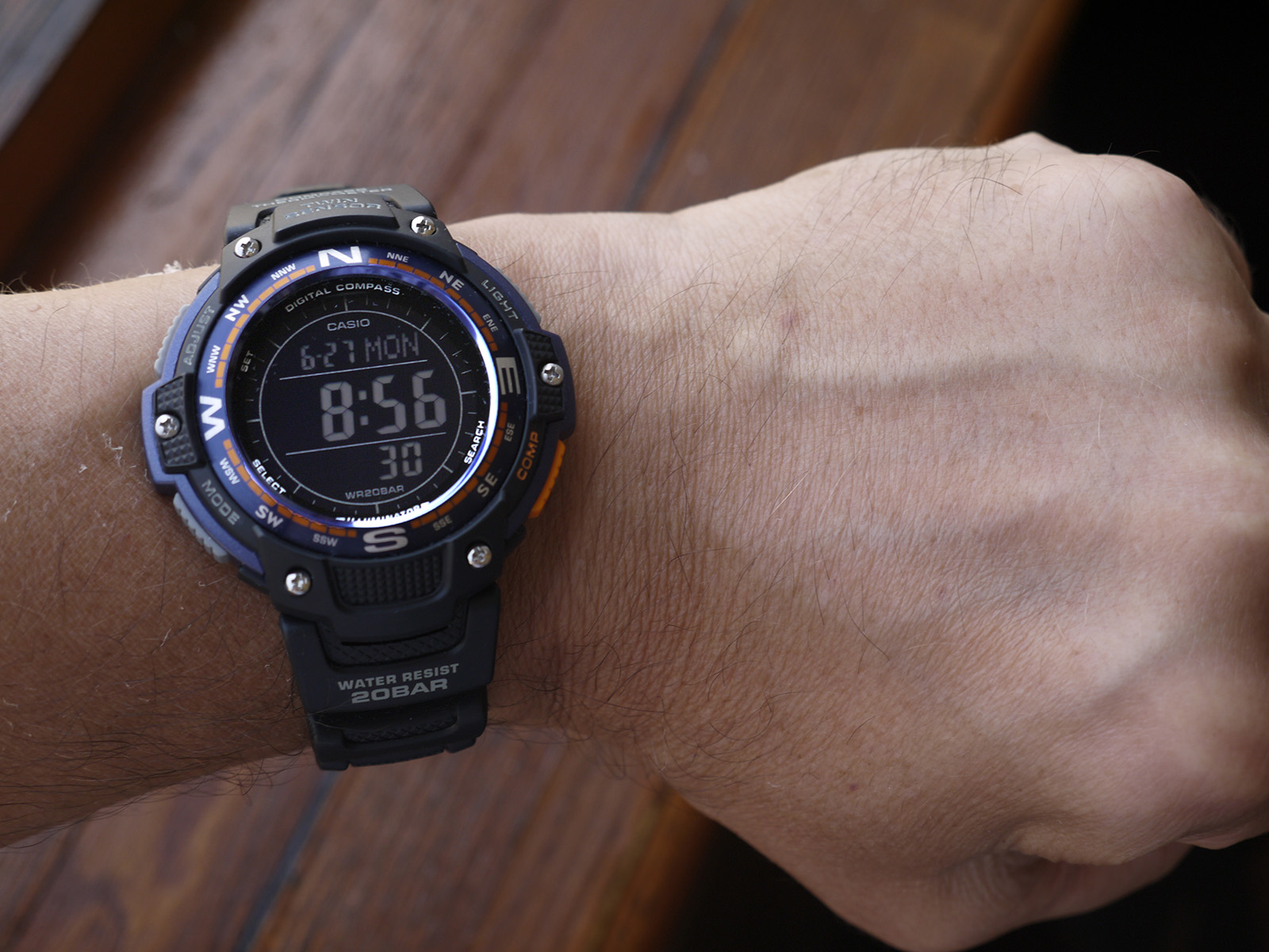 Casio sgw 100-2bcf watch