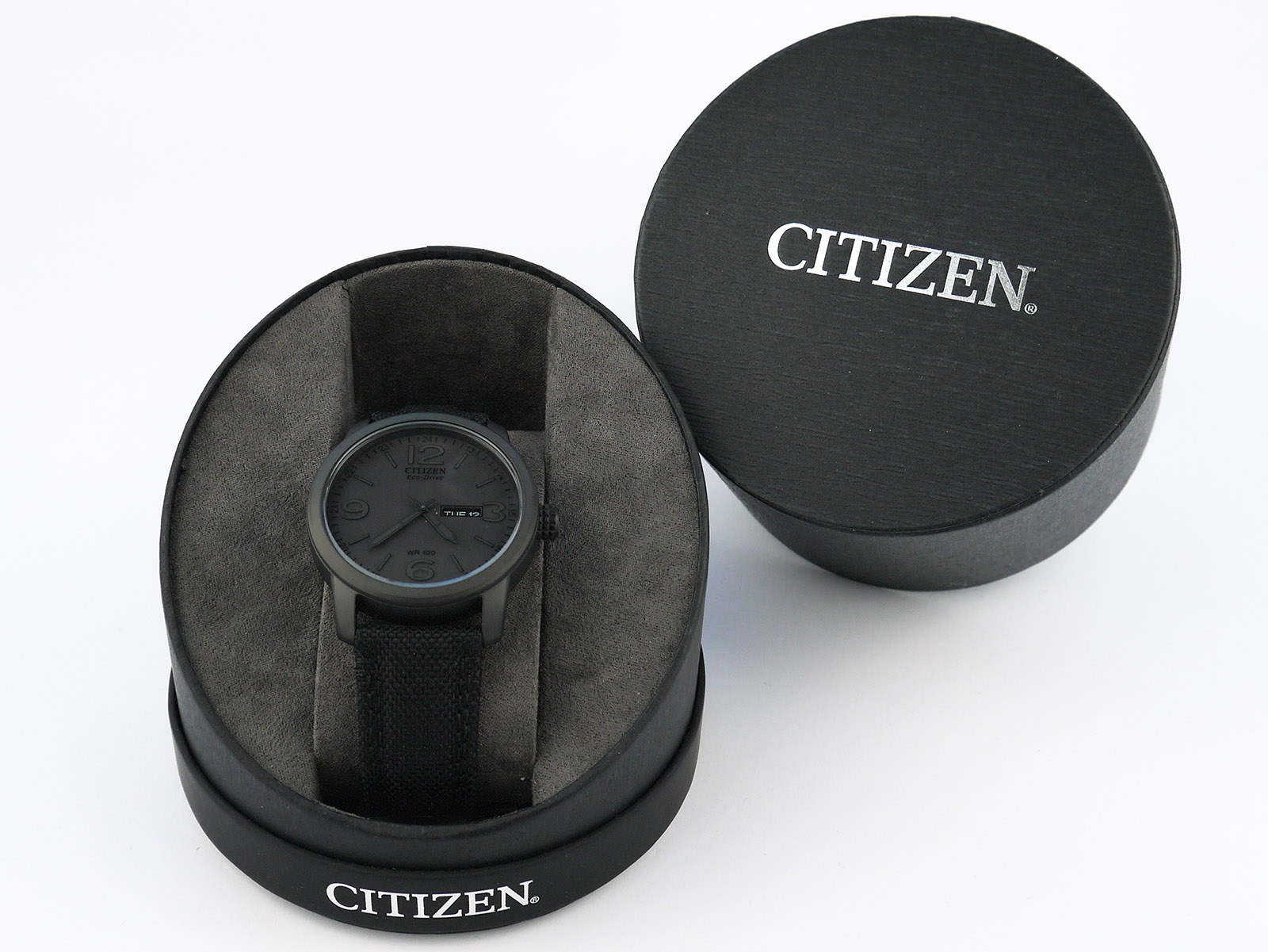 Citizen BM8475-00F Eco-Drive Black Ion-Plated Watch