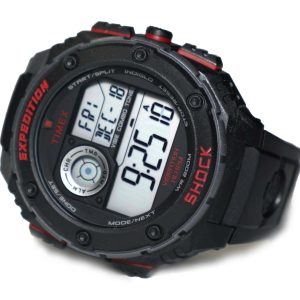 Timex T49980 Vibration alarm Shock Digital watch