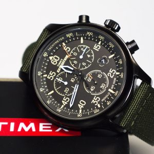 Timex Tw4B10300 Expedition Field Chronograph Watch