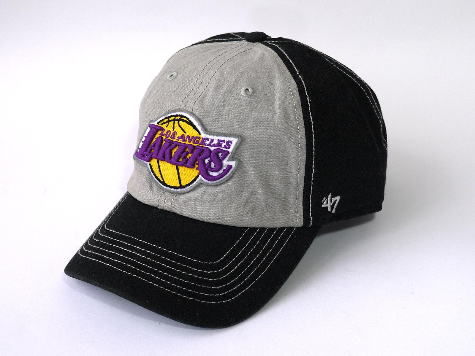 Cap 47 Brand LA Lakers Black Grey_01