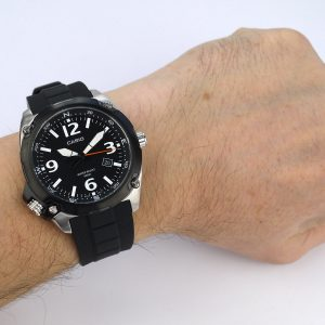 Casio MTF-E001-1AVCF Classic Black Quartz Watch