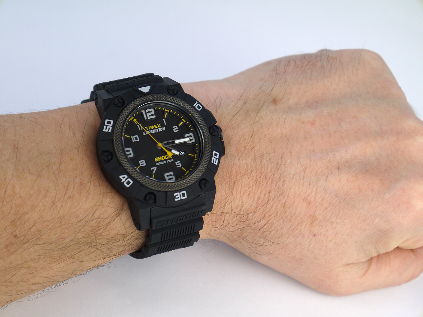 Is Acrylic Paint Waterproof >> Timex TW4B01000 Expedition Field Shock Black Resin Strap Watch ⋆ High Quality Watch Gallery