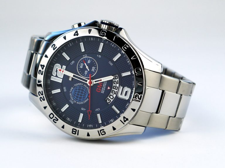 Tommy Hilfiger TH 218-1-14-1459 Stainless Steel GMT Watch