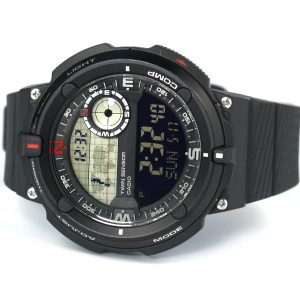 Casio SGW-600H-1BCF Twin Sensor Black Watch
