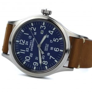 Timex Tw4B01800 Expedition Scout 40 Blue Dial Watch