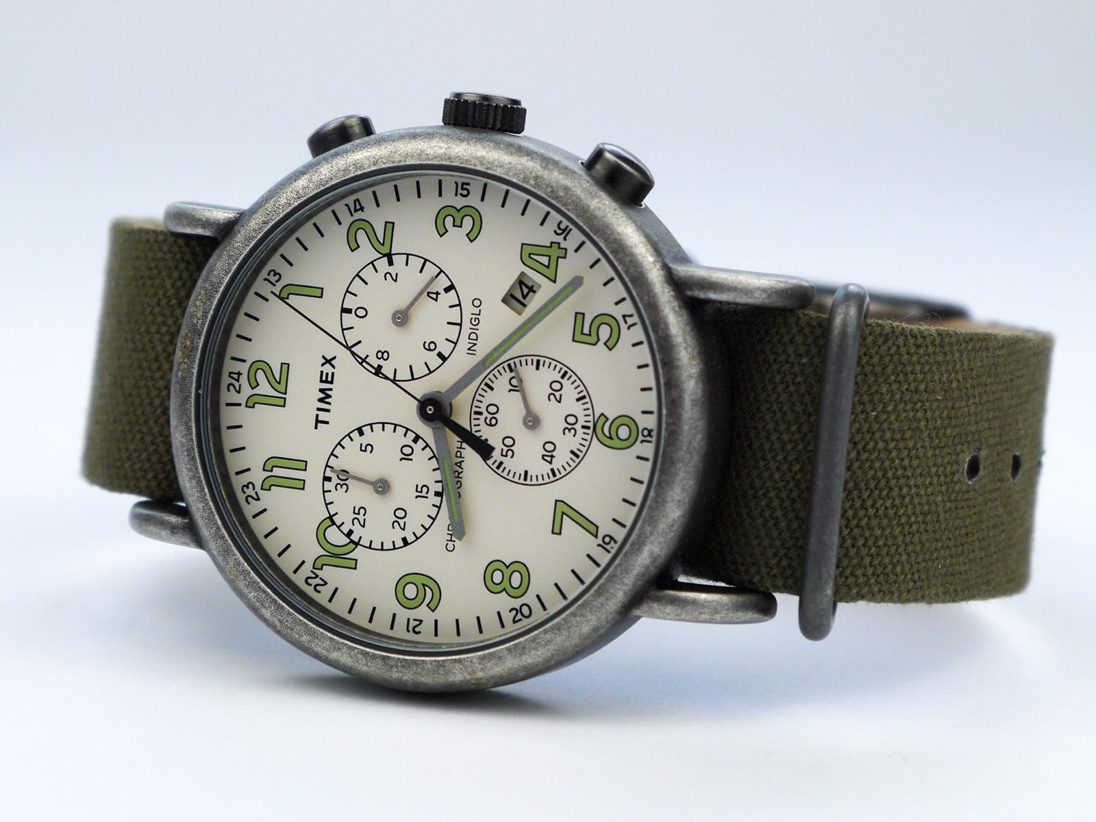 Timex TW2P85500 Weekender Vintage Watch