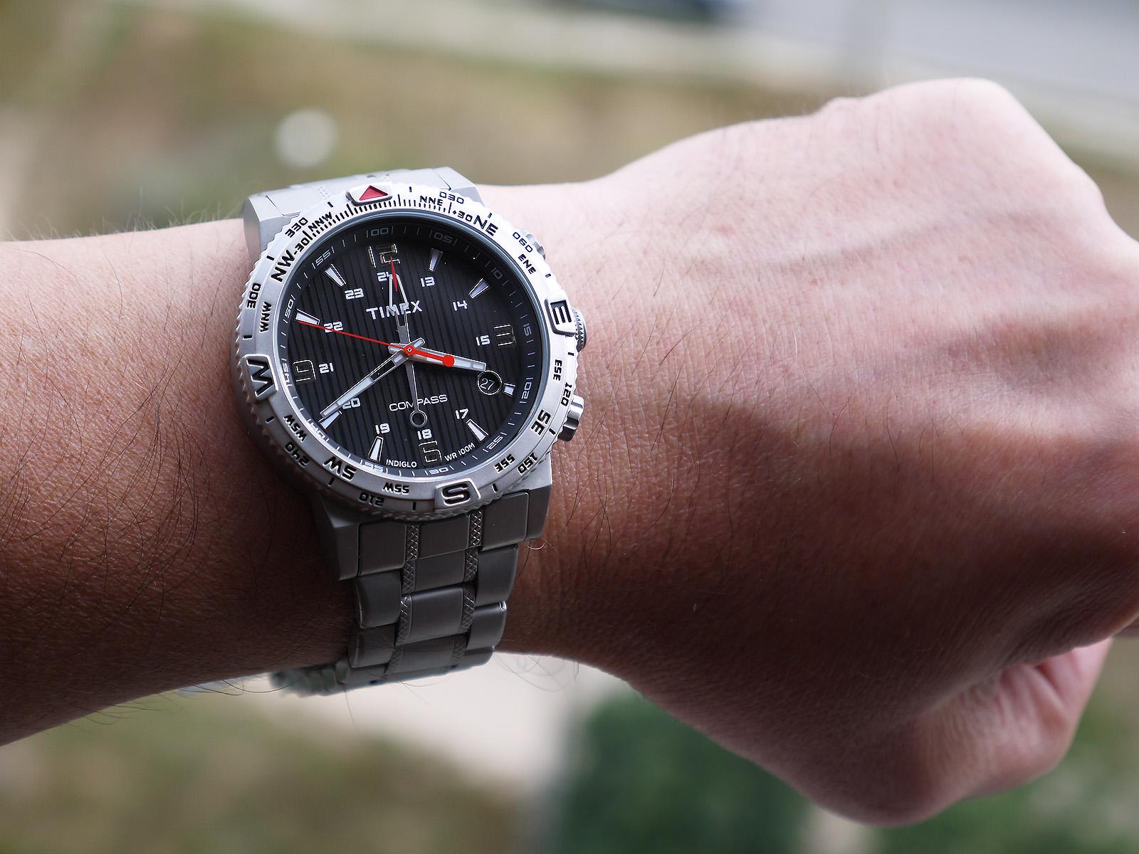 Timex T2p289 Intelligent Quartz Compass Watch ⋆ High