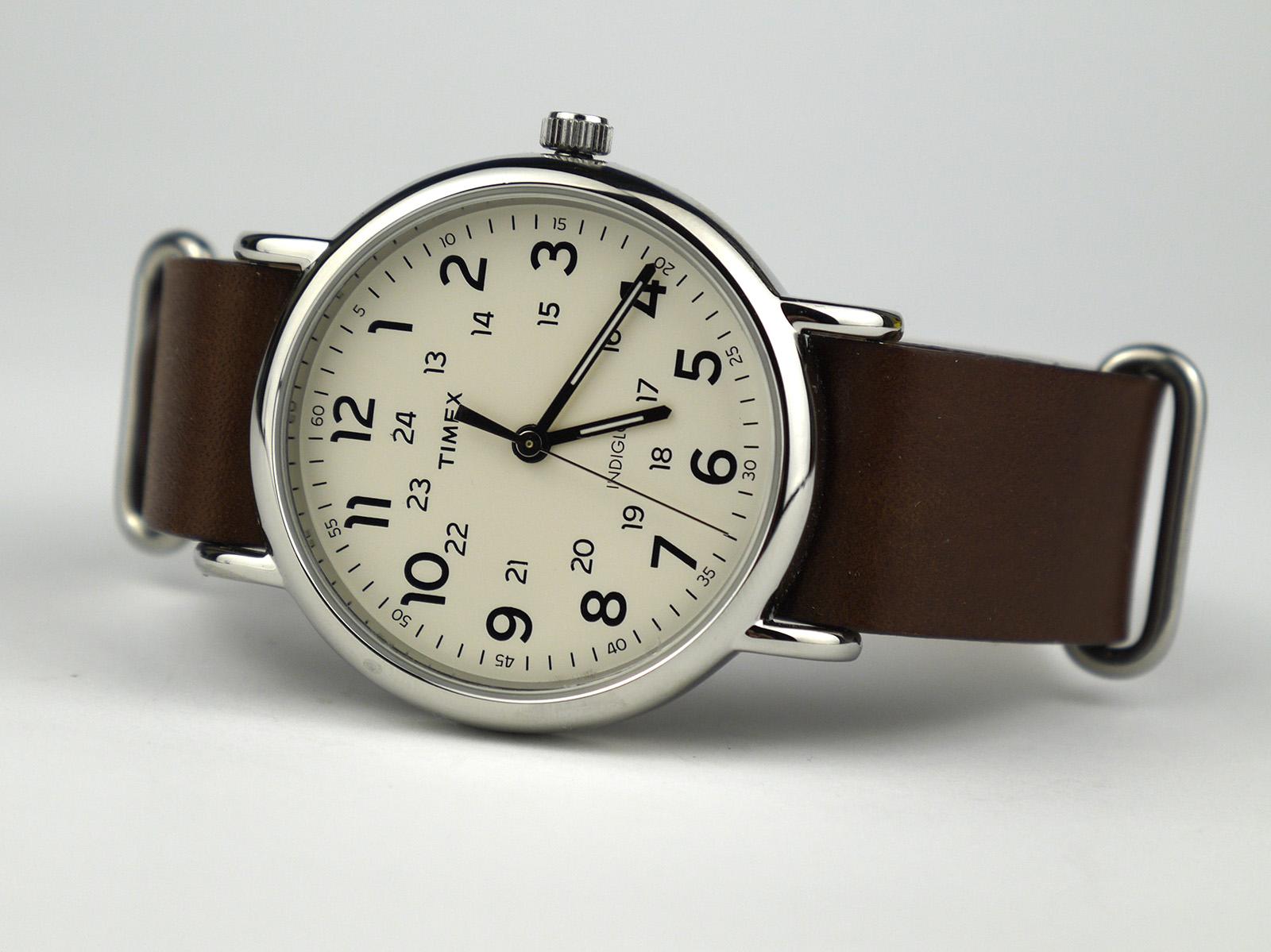 Timex T2P495 Weekender 40mm Case Slip-Thru Strap Watch