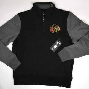 47 Brand NHL Chicago Blackhawks 1/4-Zip Pullover Fleece