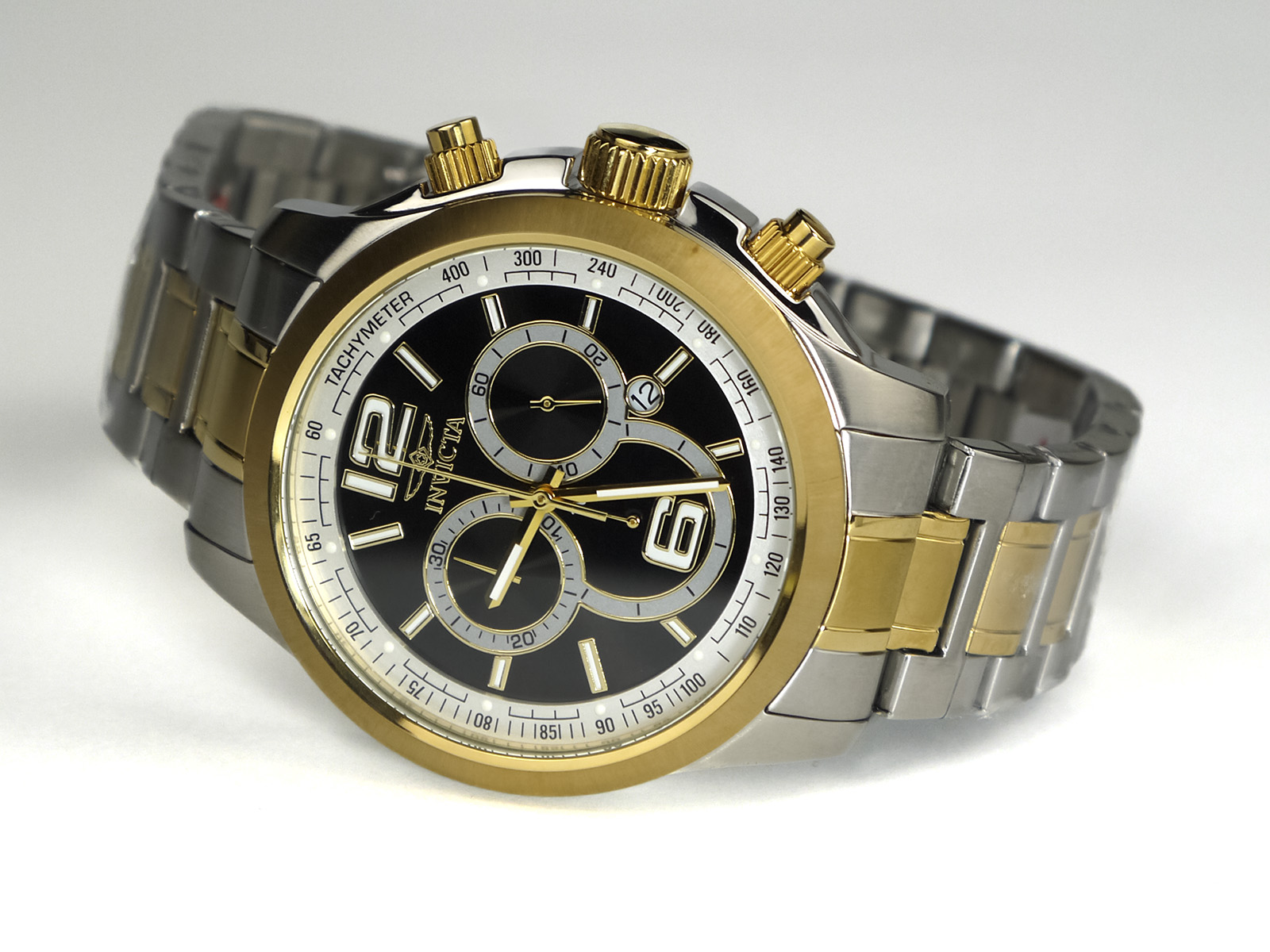 Invicta 0080 II Collection Chronograph Two-Tone Stainless Steel Watch