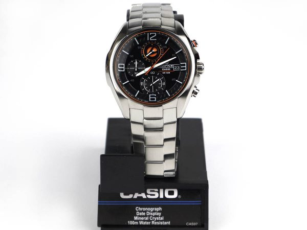 Casio EFR-529D-1A9VCF Edifice Stainless Steel Bracelet Watch