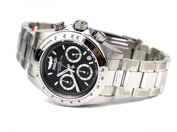 Invicta 9223 Speedway Collection Stainless Steel Watch with Link Bracelet