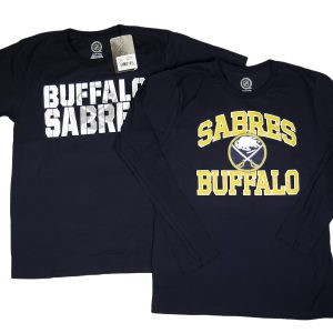 NHL_Youth Boys Sabres 2 Piece Long & Short sleeve Tee Set