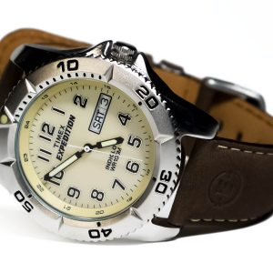Timex_Expedition_T46681 Brown Band Watch