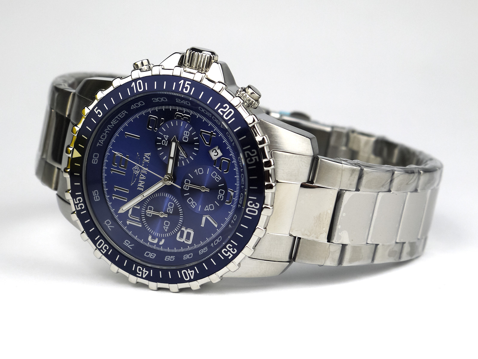 Invicta 6621 II Collection Chronograph Stainless Steel Blue Dial Watch