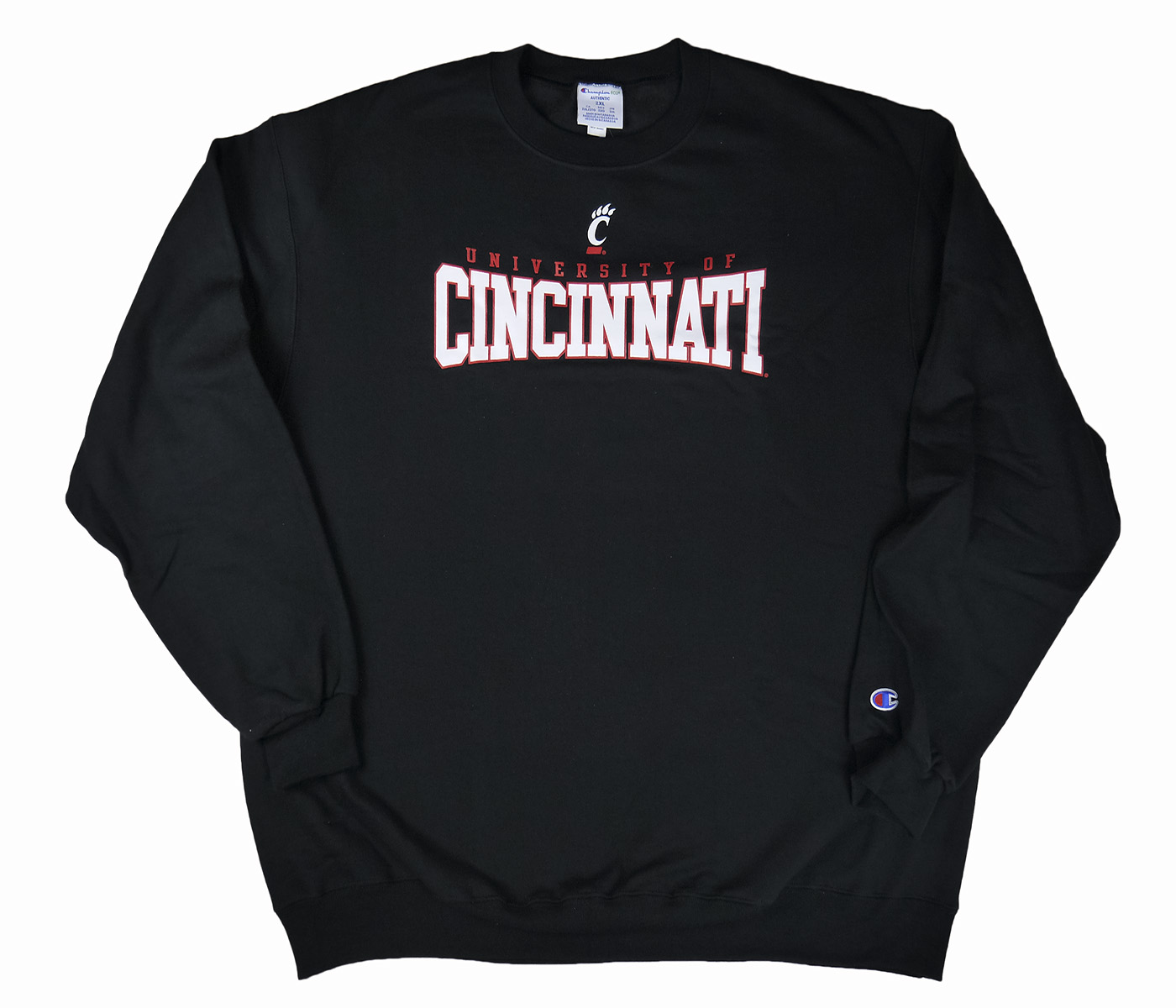 Champion NCAA Cincinnati Bearcats Sweatshirt Black