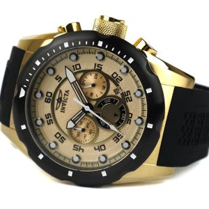 Invicta 20306 Speedway 18k Gold Ion-Plated Stainless Steel Watch